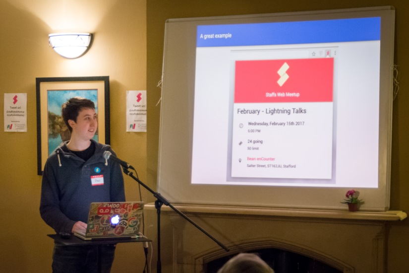 February 2017 – Lightning Talks